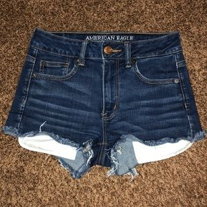 American Eagle high rise shorts size 4